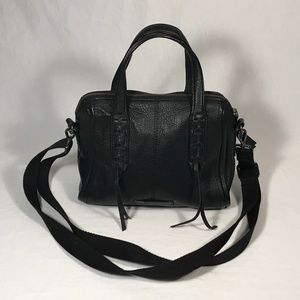 Lucky Brand Black Leather Shoulder Bag